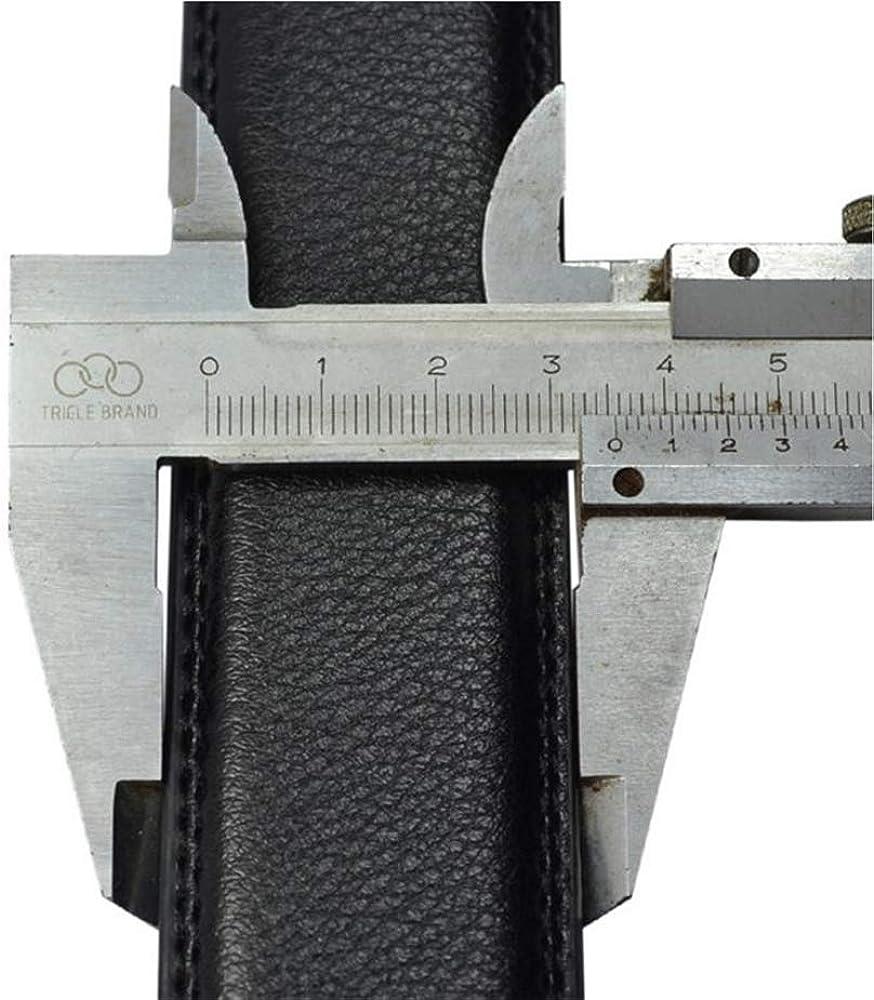 Martino Mens Genuine Leather Belt Black Ratcheting Belt Slide Grey Belts for Men With an Elegant Gift Box