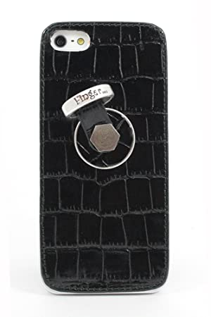Carcasa trasera Piel auténtica más Finger 360 para iPhone 5 ...