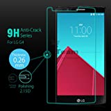 M.G.R - LG G4 [3D Touch Compatible - Tempered Glass] Screen Protector with [9H Hardness] [Premium Crystal Clarity] [Scratch-Resistant]