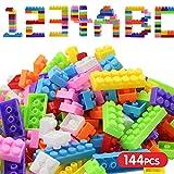 Mini 140Pcs Plastic Children Kid Puzzle Educational Building Blocks Bricks Toy