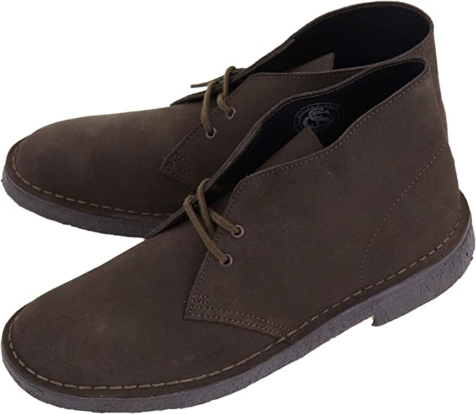 Clarks Originals Clarks Originals Desert Trek Boots Dark Brown Suede BNIB