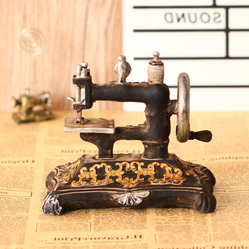 SUPVOX Vintage retro antigua máquina de coser modelo decoraciones ...