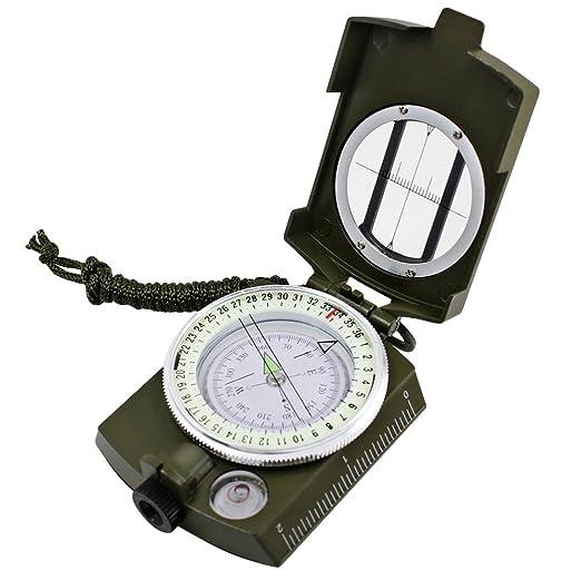 29 opinioni per DLAND Bussola Impermeabile Militare Puntamento Per Trekking Campeggio