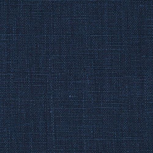 Noveltex Fabrics European 100% Washed Linen Navy ()