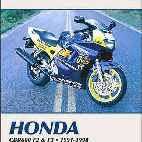 Amazoncom Clymer Honda In Line Fours Cbr600f2 And Cbr600f3 Manual
