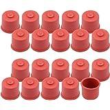 com-four® 20x Süßmostkappen für 0,7 und 1,0 Liter Flaschen, Größe 2 (20 Stück - 0.7 + 1 Liter)