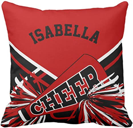 Cheerleader Throw Pillow