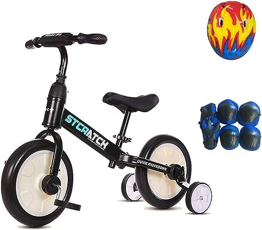 Bicicleta sin pedales Bici Bicicleta de Equilibrio y Triciclo 2 en ...