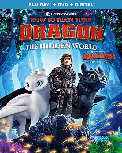 How to Train Your Dragon: The Hidden World  [Blu-ray + DVD + Digital] (Bilingual)
