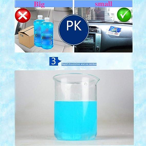 Hermosapoty limpiaparabrisas bombas de cristal limpiador 6 ...