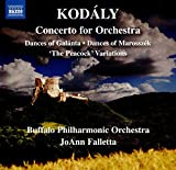 #1: Dances of Galánta Peacock Variations Dances of Marosszék Concerto for Orchestra