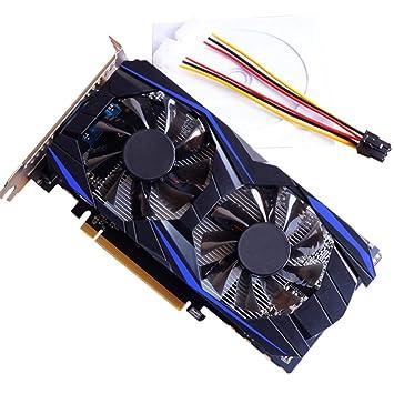 BellalueeES Tarjeta gráfica, NVIDIA GTX750TI 4GB DDR5 ...