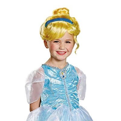 Disguise Disney Princess Cinderella Child Wig: Toys & Games