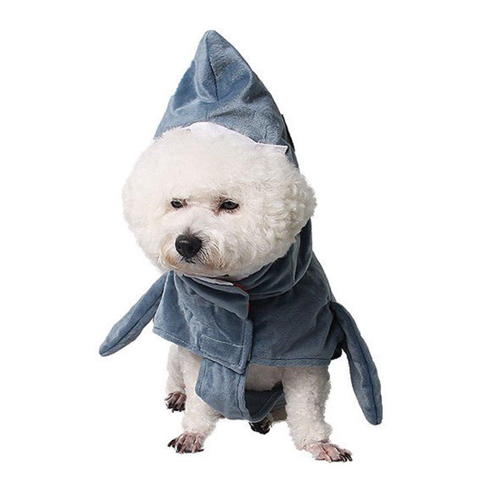 Bello Luna Funny Pet Shark Costume Dog Cosplay Apparel Pet Disfraz ...
