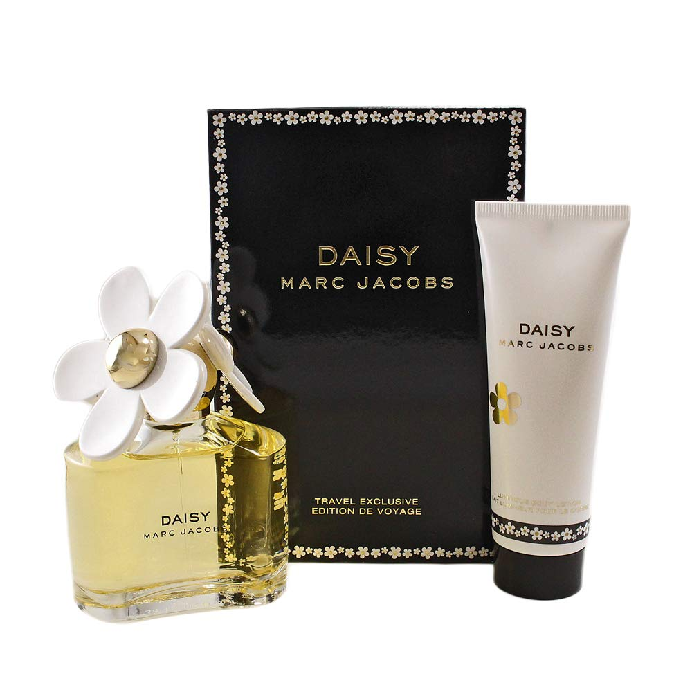 Marc Jacobs Daisy 2-Piece Fragrance Set (Eau de Toilette Spray, 3.4 Ounce and Luminous Body Lotion, 2.5 Ounce) by Marc Jacobs