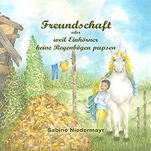 Freundschaft: oder weil Einhörner keine Regenbögen pupsen Hörbuch von Sabine Niedermayr Gesprochen von: Anastasia Milor