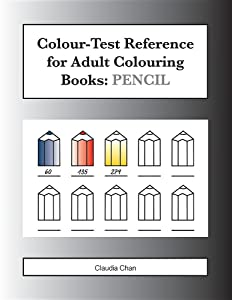 Colour-Test Reference for Adult Colouring Books: PENCIL