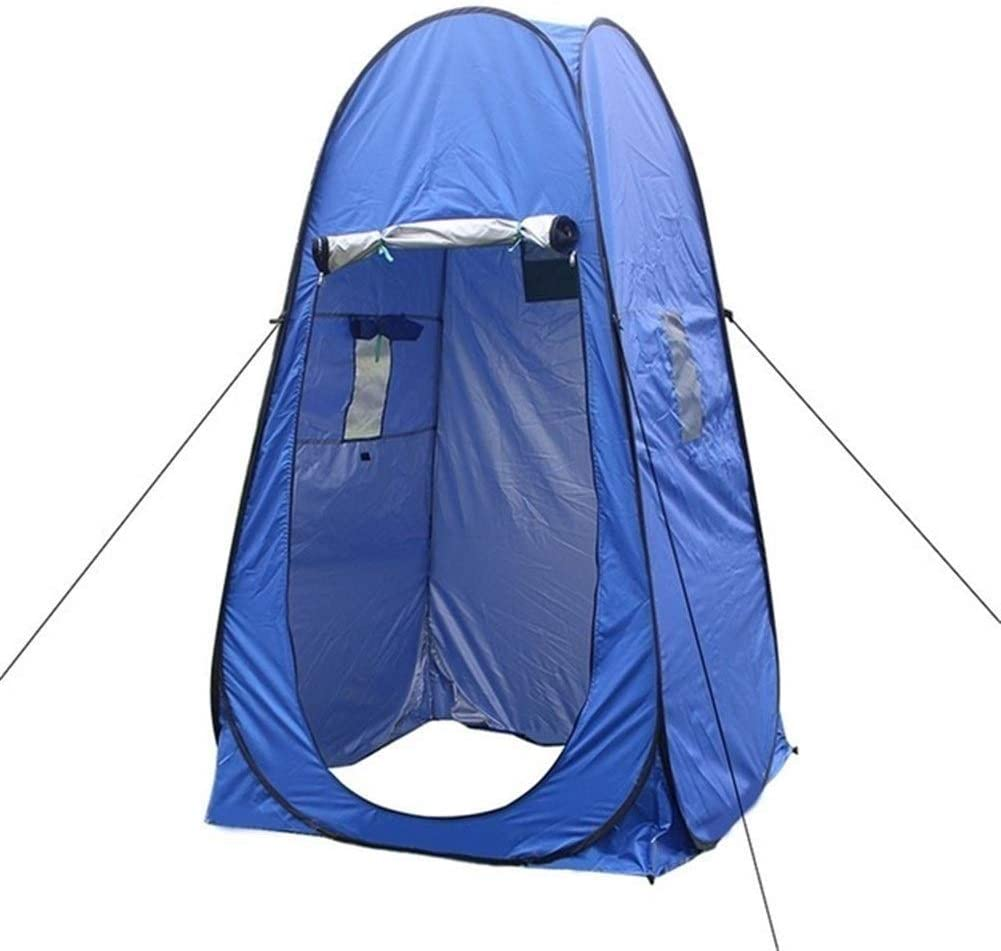 Privacy Tent Draagbaar Toilet Tent Privacy Pop Up Tent Camping Equipment Anti UV Shelter kleedkamers for Bathing Dressing Hiking Toilet Tent (Color : Blue) Blue