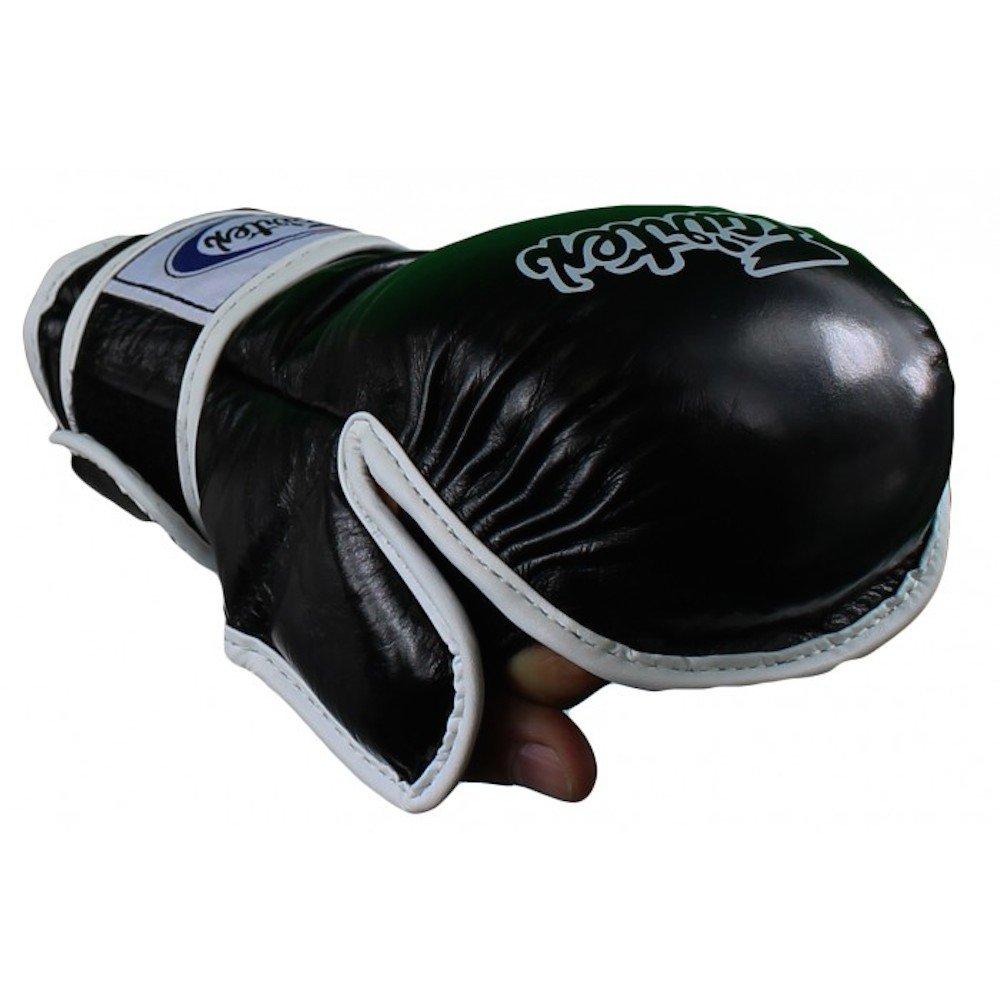 Fairtex MMAスパーリンググローブ – fgv15 – ブラック  Large
