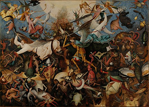 Price comparison product image Artifact Puzzles - Bruegel Fall of the Rebel Angels Wooden Jigsaw Puzzle