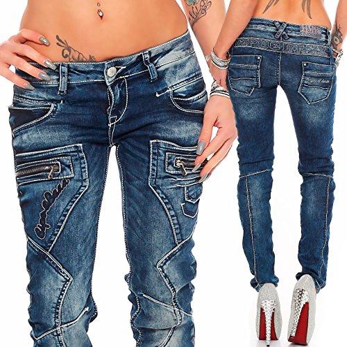 Modell bleu Baxx bleu Relaxed Femme Cipo 25 Jeans amp; qawgS0S