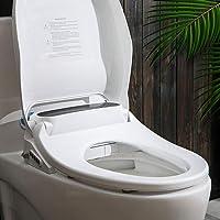 Electric Bidet Toilet Seat Cover LED Night Light Remote Control Auto Smart Wash Model 1