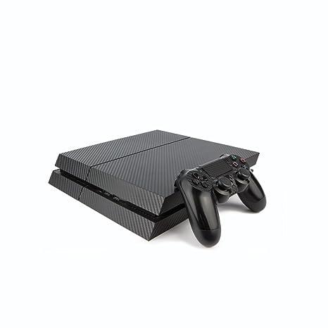 Premium PS4 Playstation 4 Carbone Fibre Vinyl Wrap/Skin ...