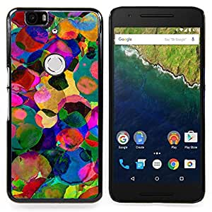 Stuss Case / Funda Carcasa protectora - Aquarelle Colorful Abstract Summer Sun - Huawei Google Nexus 6P
