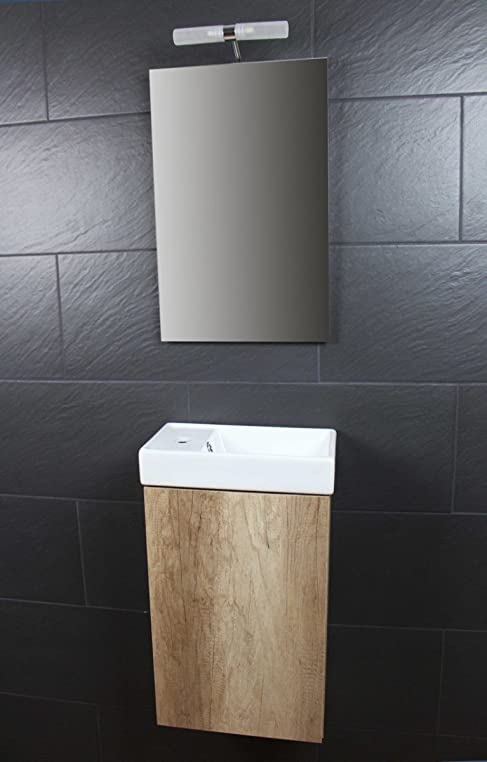 Amazon.de: Galdem Bad-Set CUBE Gäste WC Set Gästebad Badmöbel ...