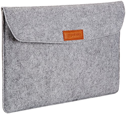 AmazonBasics 15 4 Inch Felt Laptop Sleeve