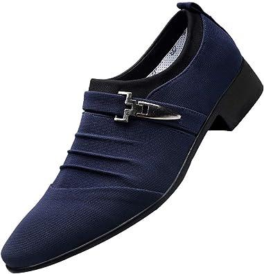 Chaussures HabilléEs pour Hommes, Chaussures De Sport à Face Souple, Chaussures en Cuir,Kinlene Chaussures en Cuir De Nouveaux Hommes Britanniques
