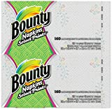 Bounty Quilted Napkins, Signature Series Prints - 160 ct - 2 pk - Packaging may vary