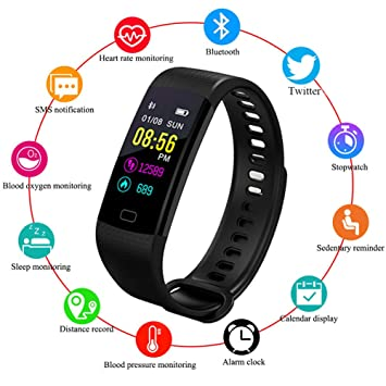 Sanda Luxus Smart Uhr Ip67 Wasserdicht Heart Rate Monitor Blutdruck Fitness Tracker Männer Frauen Smartwatch Für Ios Android Starke Verpackung Herrenuhren