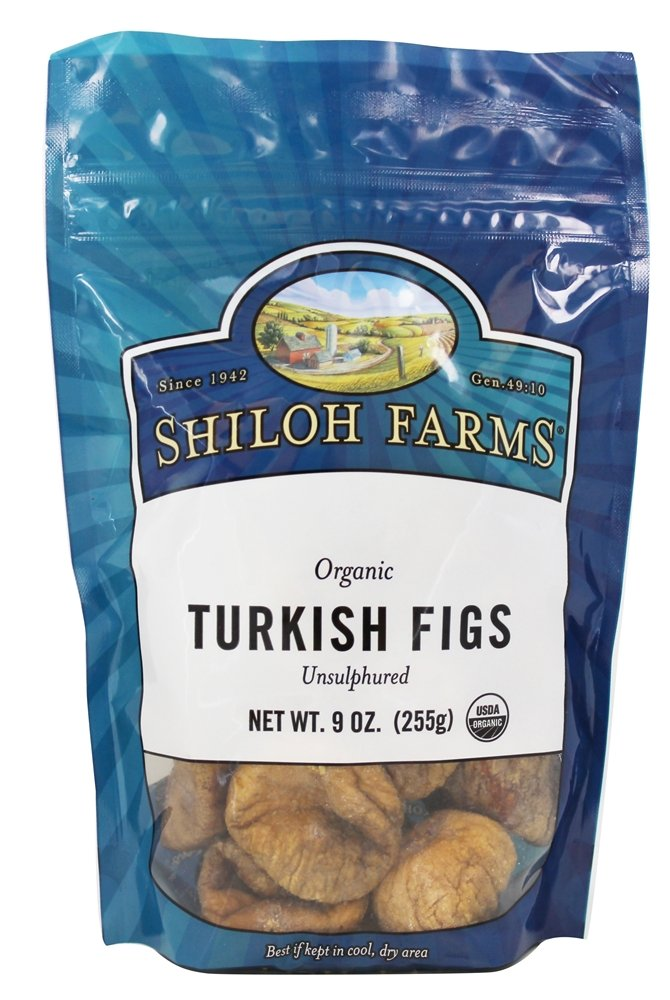 Shiloh Farms - Organic Turkish Figs - 9 oz(pack of 2)