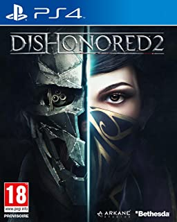 amazon com dishonored 2 playstation 4 bethesda softworks inc