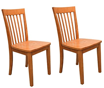 Lovely Kings Brand Furniture   Set Of 2 Heavy Duty Solid Wood Dining Room    Kitchen Side