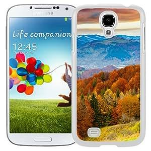 Fall Mountain Fun Red Orange Tree Nature (2) Hard Plastic Samsung Galaxy S4 I9500 Protective Phone Case
