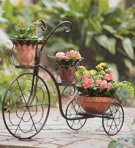 Wind & Weather PL6301 - Macetero de 3 niveles para bicicleta de ...