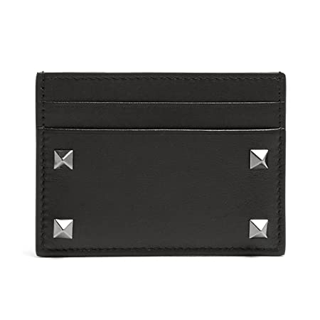 ede7a315ea662 Valentino Leather Rockstud Cardholder: Amazon.co.uk: Luggage