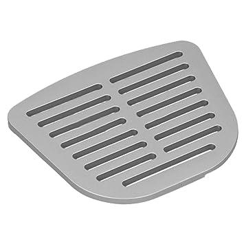 Spares2go - Plato de filtro de agua para nevera, color plateado y gris para nevera Hyundai H7914APS: Amazon.es: Hogar
