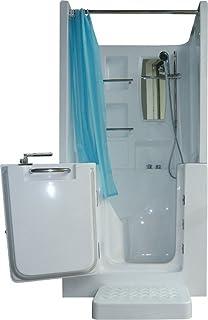 Senioren Dusche Sitzbadewanne Sitzwanne Duschbadewanne mit Tür ... | {Duschbadewanne mit tür 35}