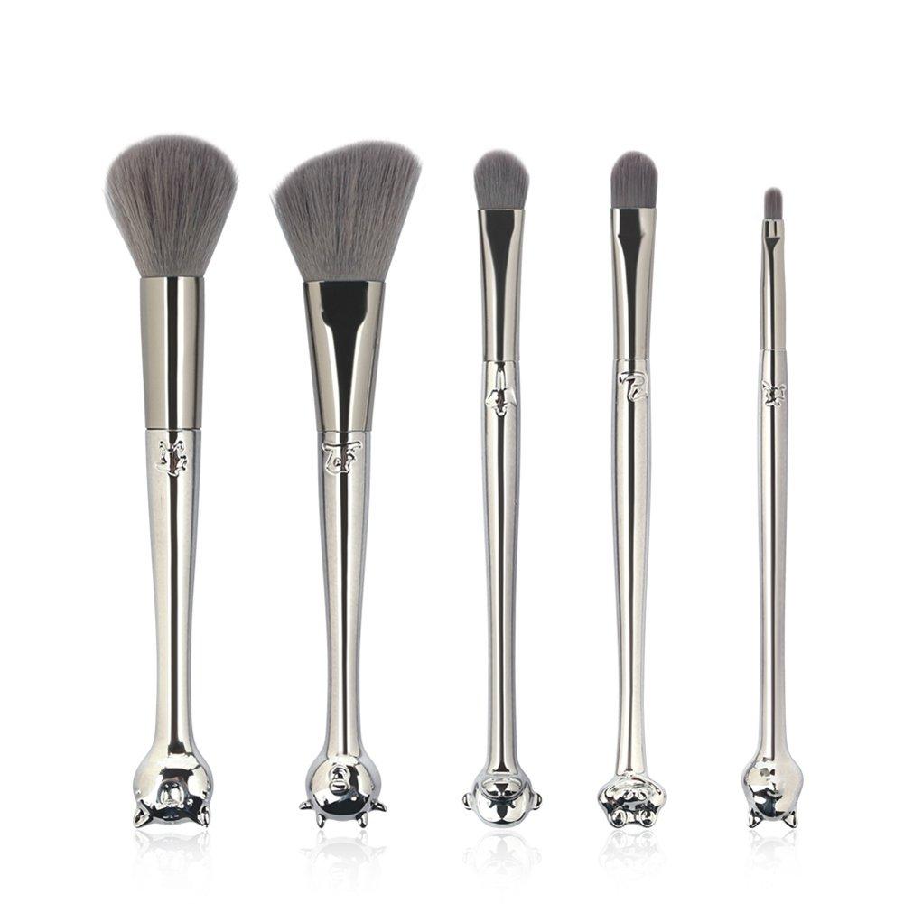 Luxsea Makeup Brushes Set 5/7 Pcs Chinese Zodiac Makeup Brushes Set Foundation Powder Blending Makeup Brushes Kit
