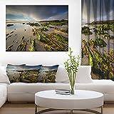 Furnas Virgin Beach Galicia Spain Seashore Canvas Art Print
