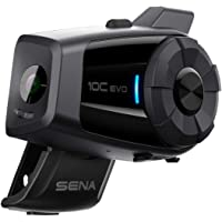 Sena 10C EVO Motorcycle Bluetooth 4K Camera & Intercom System