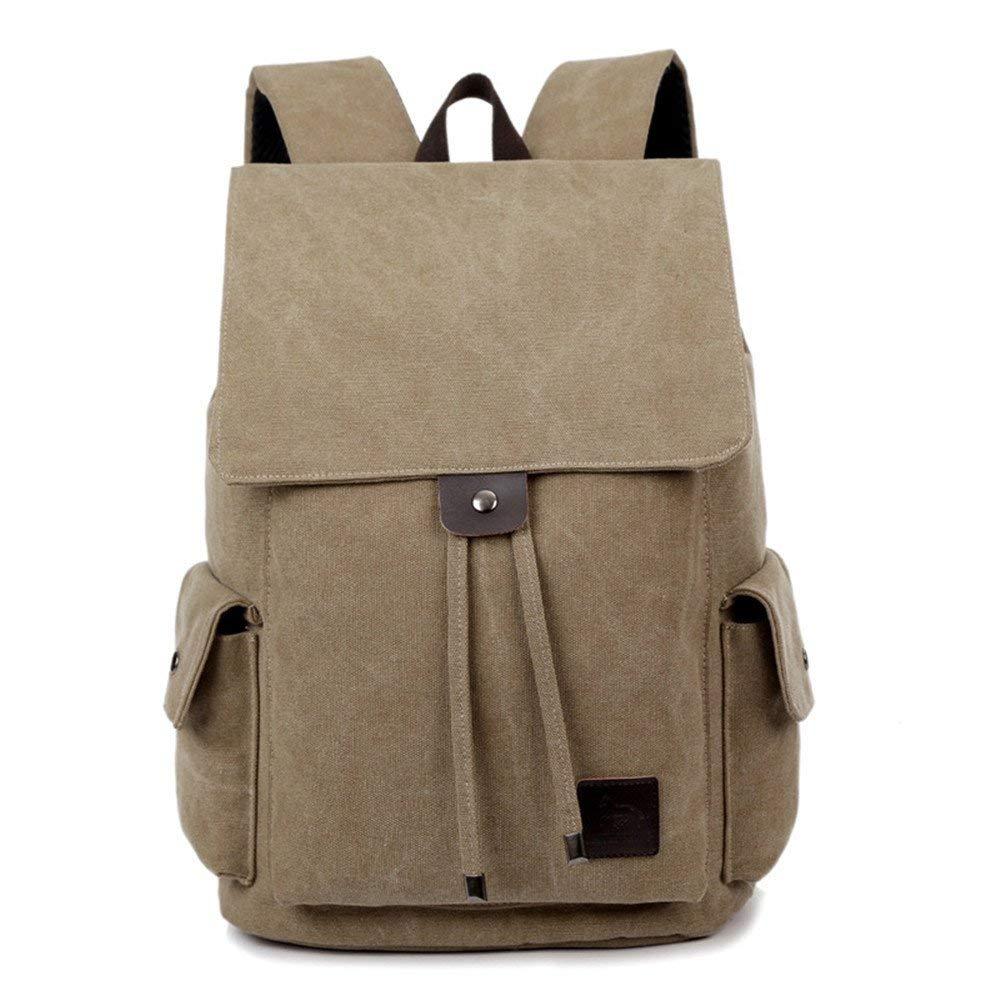 3550d75c81c2 Laptop Backpack Notebook Rucksack Leisure Canvas Bag, Men and Women ...