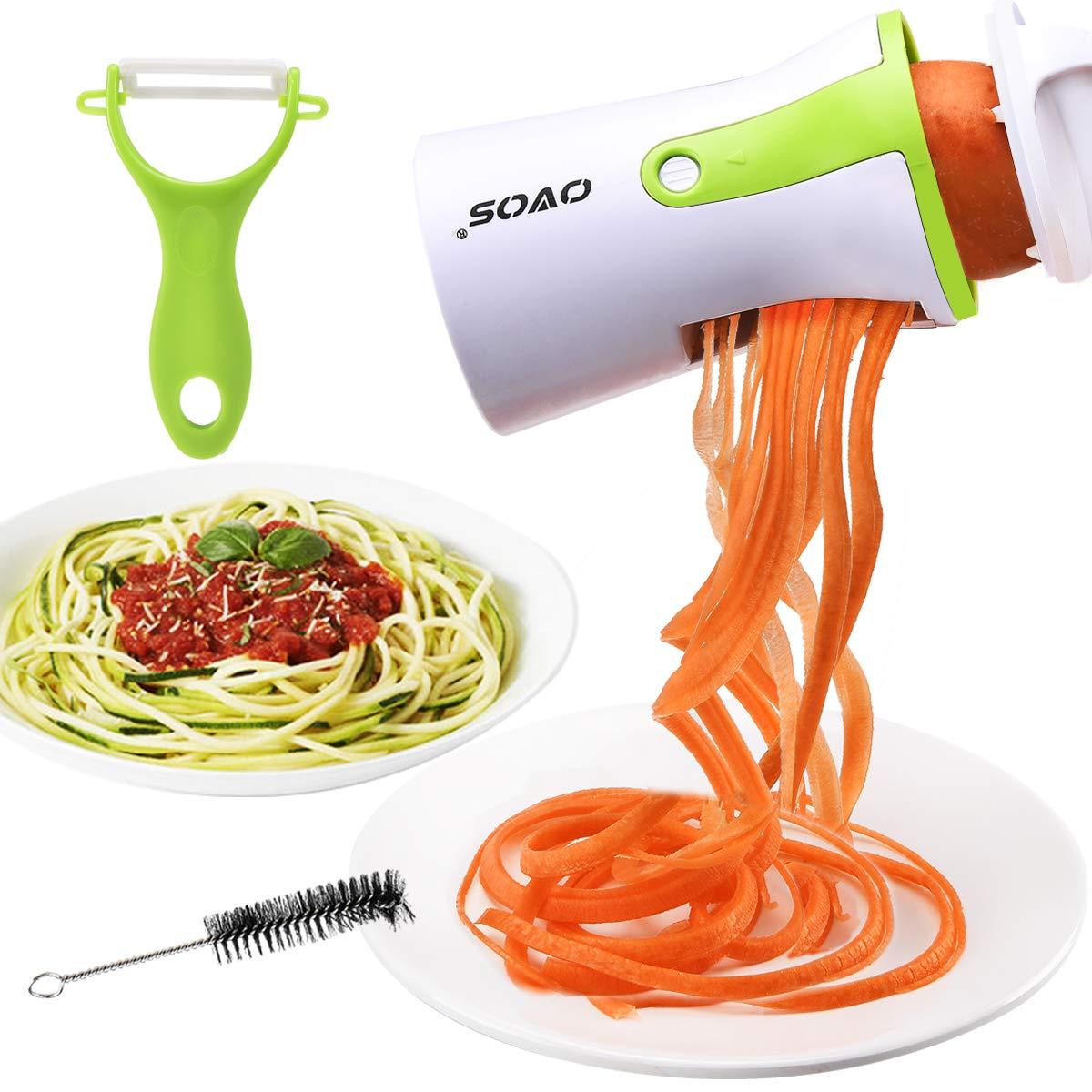 Easy To Use Veggetti Spaghetti Zucchini Carrots Radish Kitchen Tool