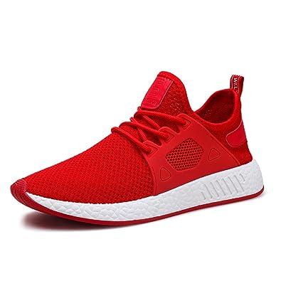 e4f1a36fa54f MUOU Schuhe Herren Sommer Sneaker Atmungsaktive Freizeitschuhe Mode Bequeme  Lace-up Männer Turnschuhe Mesh Laufschuhe