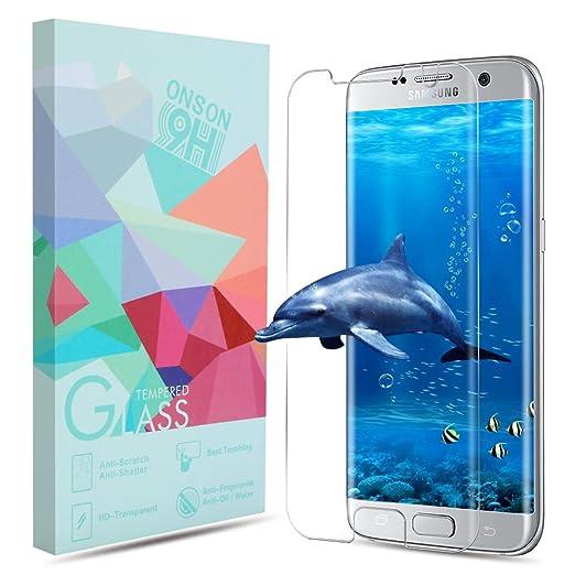 34 opinioni per Vetro Temperato Galaxy S7 edge, Pellicola Protettiva ONSON in Vetro Temperato