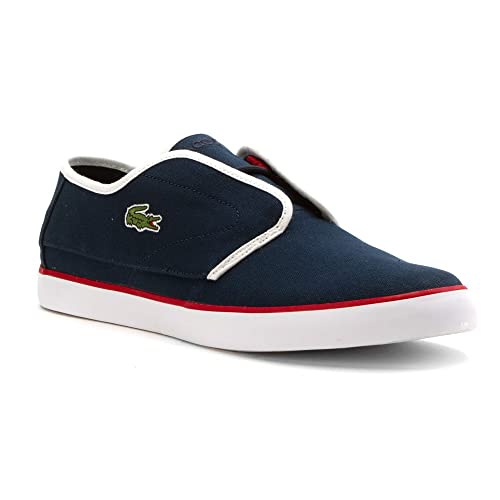 6cba86ff8 Lacoste Men s Ovrhnd 316 1 Navy White 10 M  Buy Online at Low Prices ...