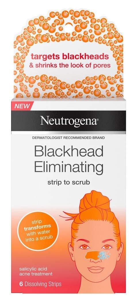 Neutrogena Blackhead Eliminating Strips 6 Count (2 Pack)